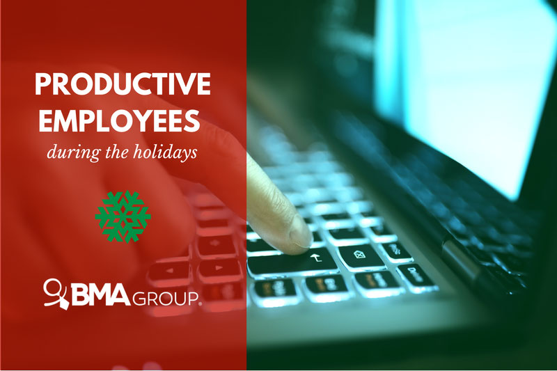 Employee Productivity during the holidays