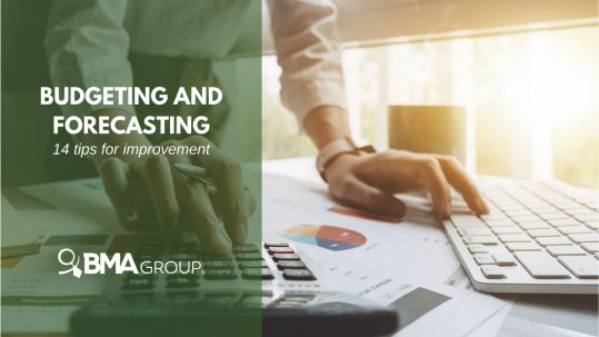 budgeting and forecasting tips